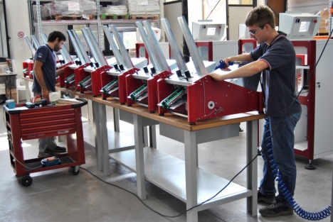 sheets counting  machine equipment.